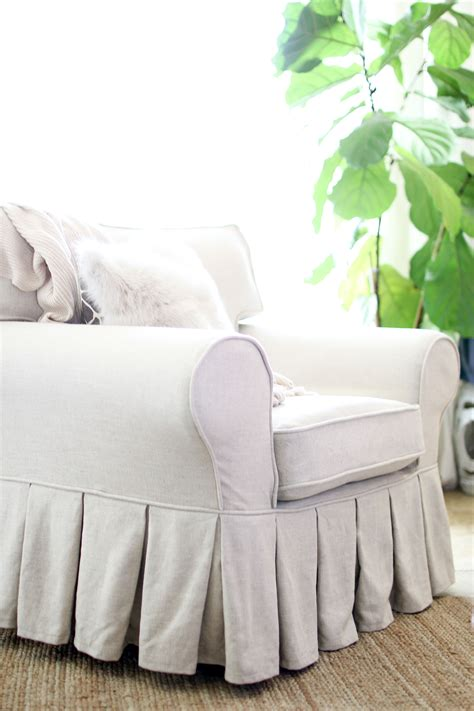 Diy Slipcover For Loveseat