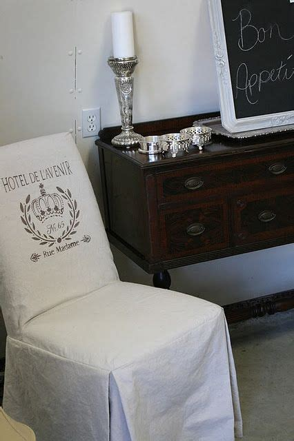 Diy Slipcover Parsons Chair
