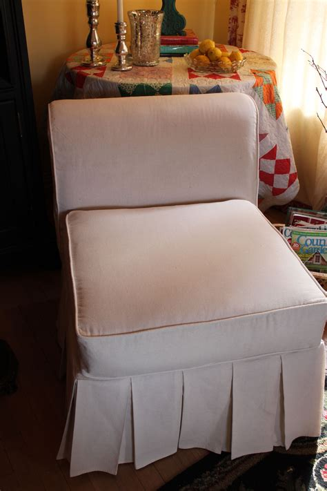 Diy Slipper Chair Cover