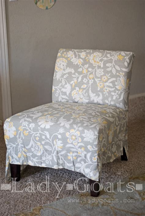 Diy Slipper Chair Slipcover