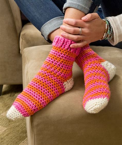 Diy Slippers Sock Pattern