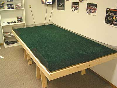 Diy Slot Car Table Construction