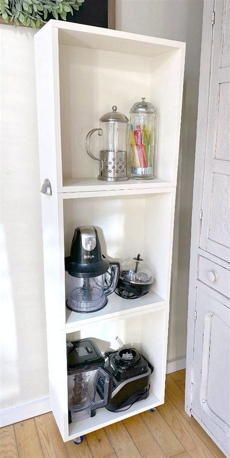 Diy Small Appliance Storage Cart