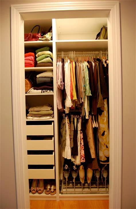 Diy Small Bedroom With Small Closet