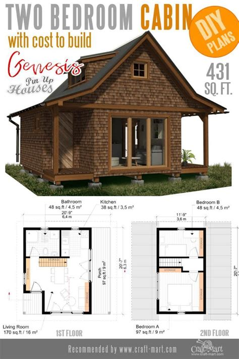 Diy Small Cabin Floor Plans