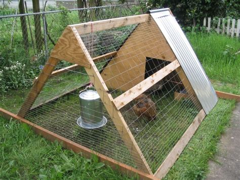 Diy Small Chicken Coop Cover