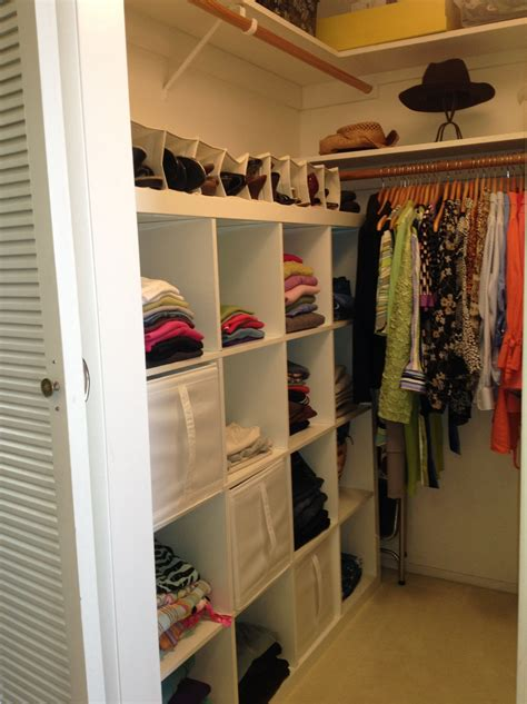 Diy Small Closet Storage Ideas On Pinterest