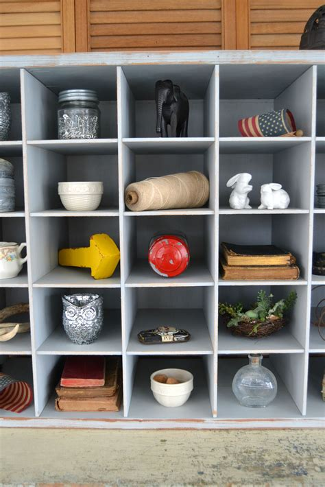 Diy Small Cubby Shelves