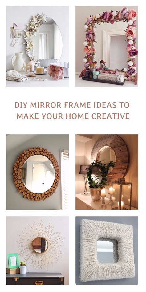 Diy Small Mirror Frame Ideas