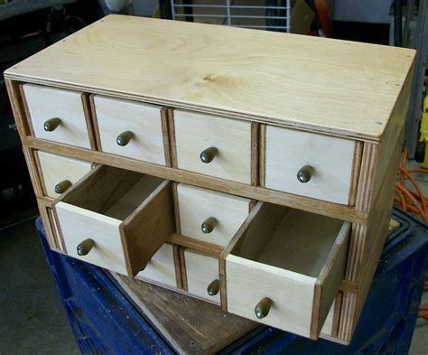Diy Small Parts Drawers