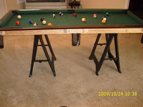 Diy Small Pool Table