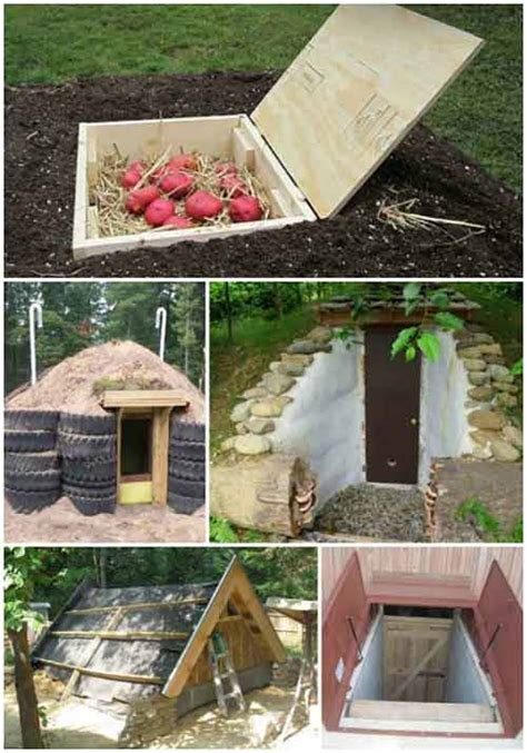 Diy Small Root Cellar