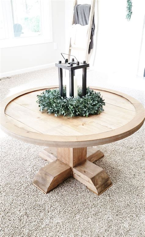 Diy Small Round End Table