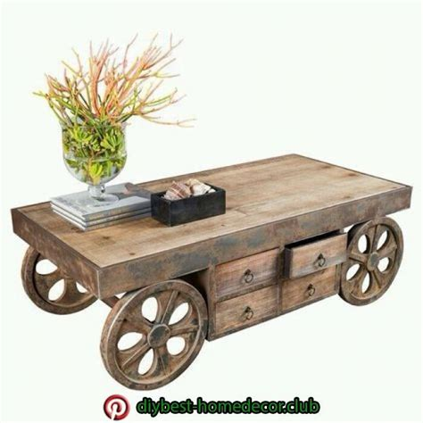 Diy Small Table On Rollers Wheelers