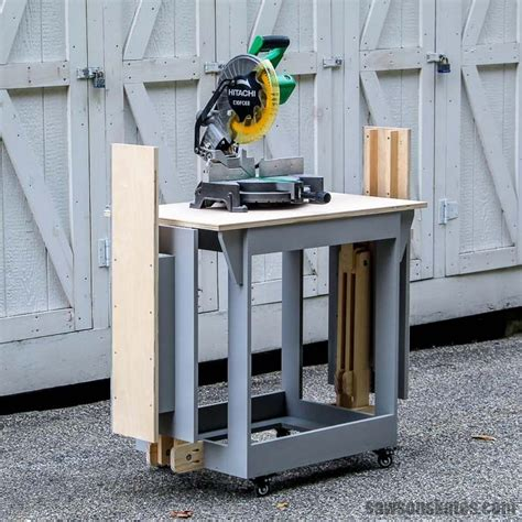 Diy Small Table Saw Station Youtube
