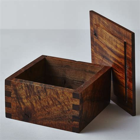 Diy Small Wooden Box With Lid Plans