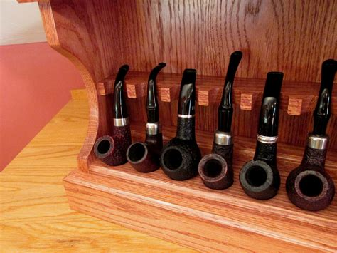 Diy Smoking Pipe Rack