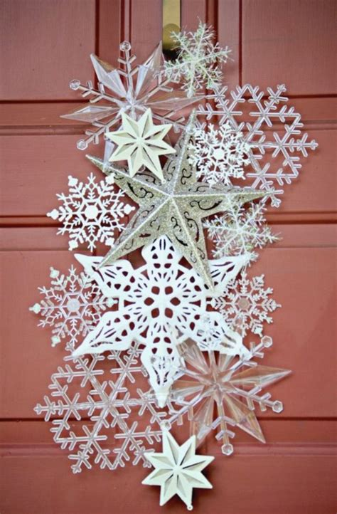 Diy Snowflakes Decorations