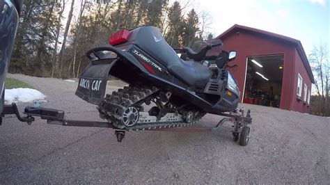 Diy Snowmobile Cart