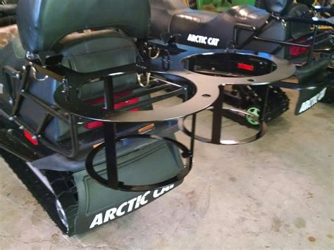 Diy Snowmobile Ice Fishing Rack