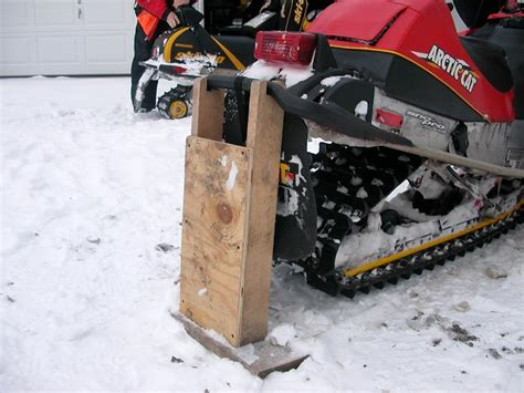 Diy Snowmobile Stand