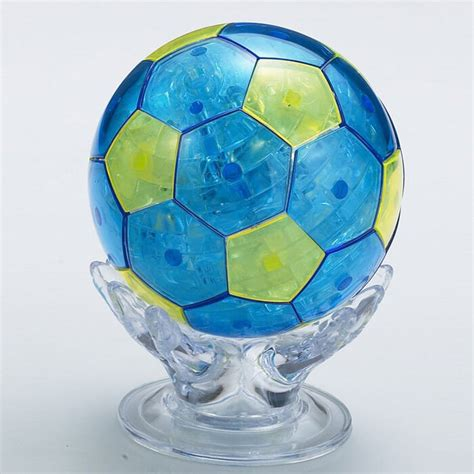 Diy Soccer Ball Crystal Puzzle 3d Youtube
