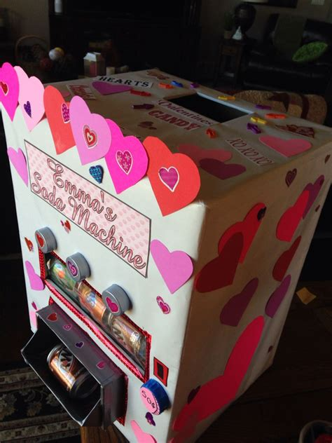 Diy Soda Can Valentine Boxes