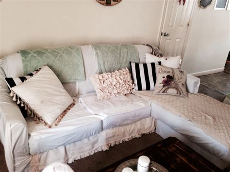 Diy Sofa Cover No Sew