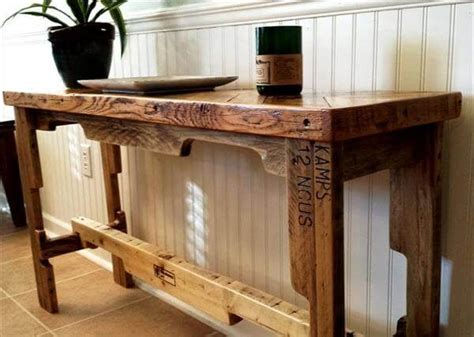 Diy Sofa Table Plans Simple