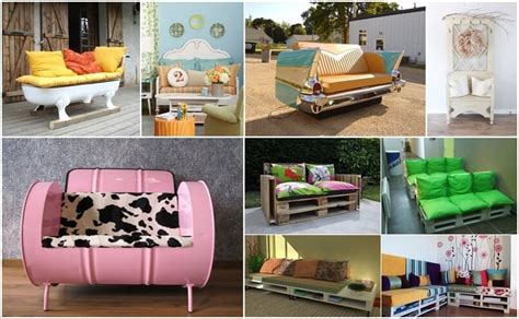Diy Sofa Using Recyclable Materials