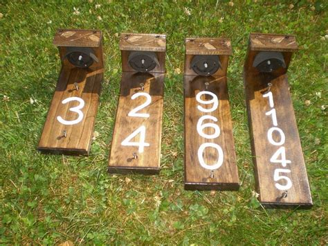 Diy Solar House Numbers