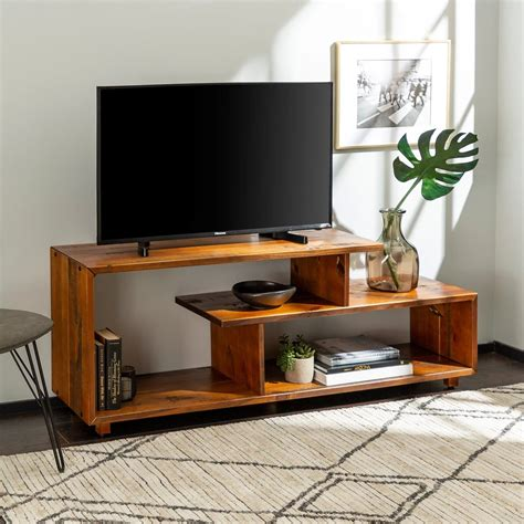 Diy Solid Wood Tv Stand