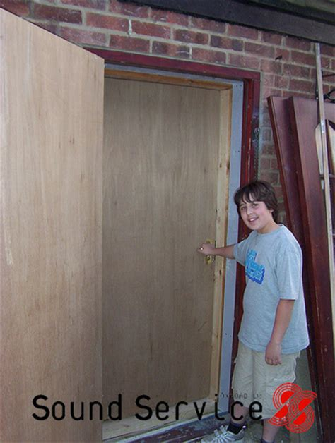 Diy Soundproof Garage Door
