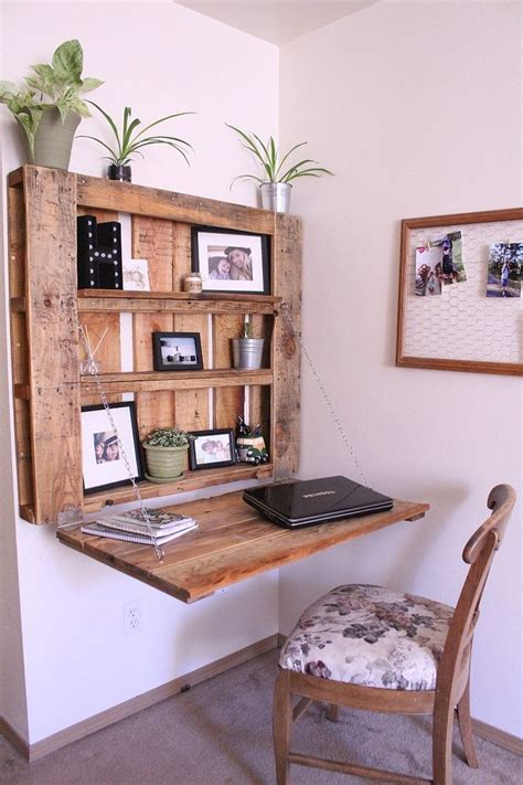 Diy Space Saving Desk With Storage