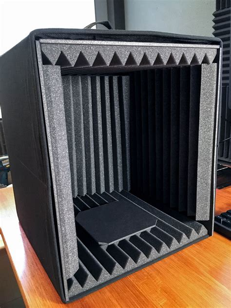 Diy Speaker Isolation Box Microphone