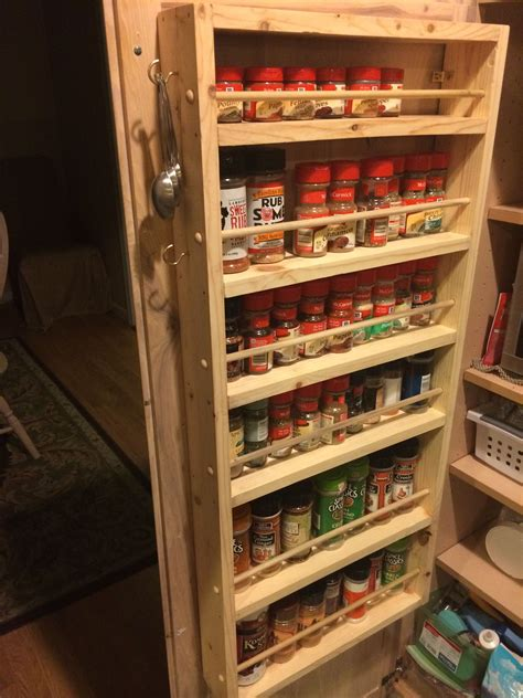 Diy Spice Rack For Pantry