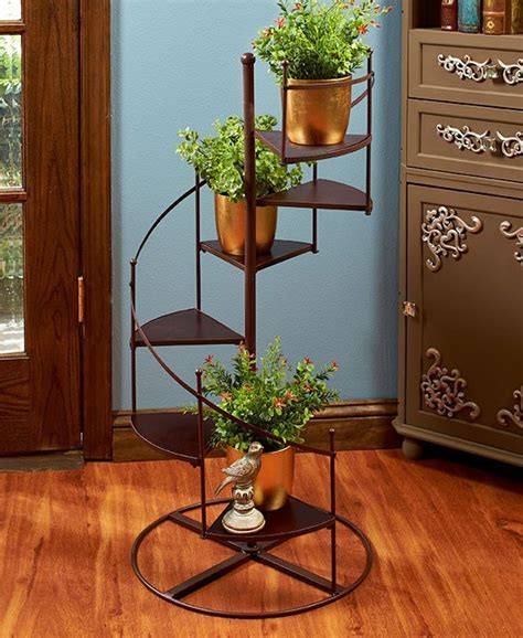 Diy Spiral Staircase Plant Stand