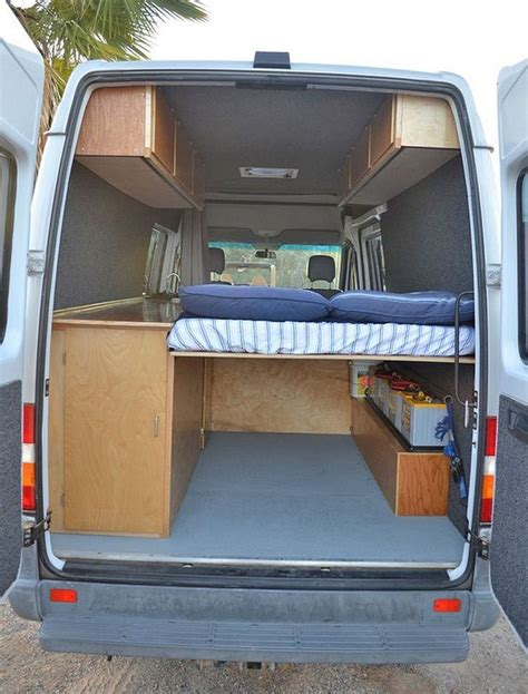 Diy Sprinter Van Bed Ideas