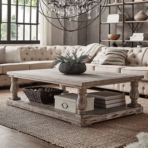 Diy Square Balustrade Coffee Table