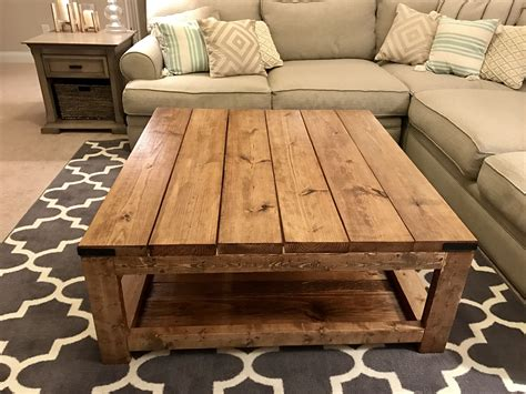 Diy Square Coffee Tables