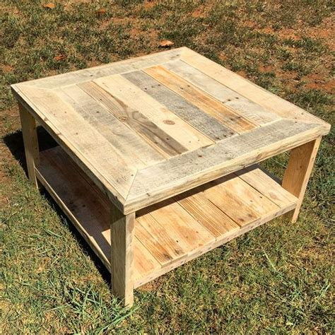 Diy Square Pallet Coffee Table Plans