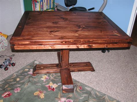 Diy Square Pedestal Table