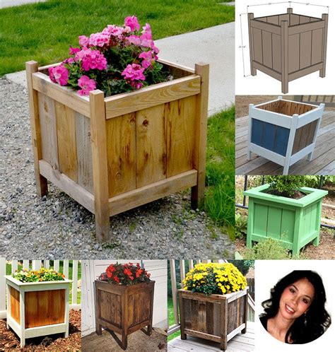 Diy Square Planter Boxes