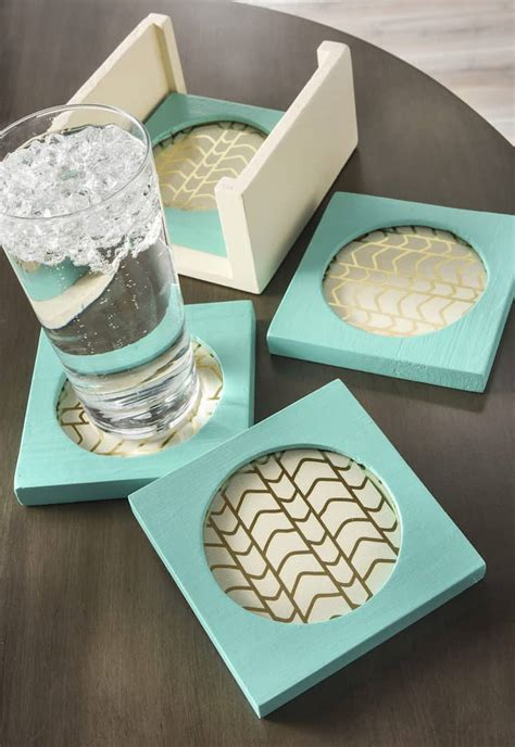 Diy Square Wood Coasters Michaels