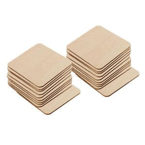 Diy Square Wood Coasters Wholesale