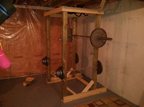 Diy Squat Rack 4x4