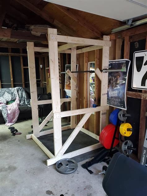 Diy Squat Rack Reddit Game