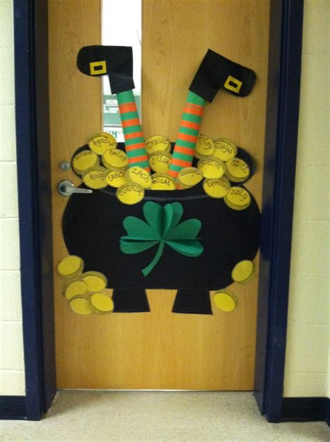 Diy St Patricks Day Door Decor