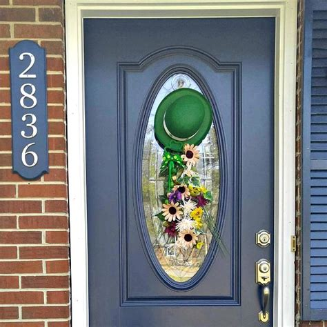 Diy St Pats Day Door Swag