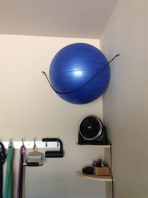 Diy Stability Ball Rack